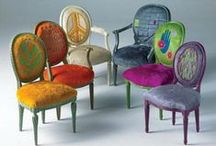 Very Cool Seating / Also Footstools, Ottomans and Poufs!  (pin all you like) / by Cassie Steffen