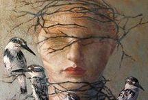 Art - Paintings & Drawings 5 / by Crone