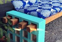 concrete ideas / stuff you can do/make with concrete, molds or cinder blocks