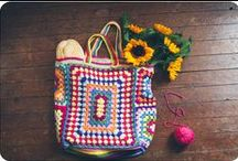 CROCHET bags / by Laine Crowe