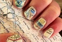 Travel Nails, Hair and Makeup / Fun looks for your travel style!