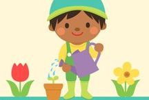 ~ Preschool Nature & Garden ~ / Learning About Gardening, Science & Nature   Earth Day & Arbor Day Activities / by Melissa Sutton