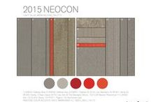 2015 NeoCon: Warm Palette / Warm palette of design inspiration and our global modular carpet products - Equal Measure and Near & Far / by Interface Americas