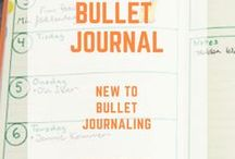 Bullet Journal / Make you life a bit more structured and fun with a bullet journal