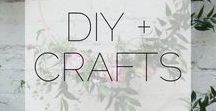 DIY || Crafts / DIY and craft ideas. Home DIY trends and fun craft projects.