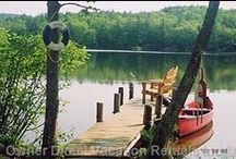 Lakeside Retreats / A collection of some of our favorite lakeside vacation homes. A great way to spend a vacation with friends and family. / by Owner Direct Vacation Rentals