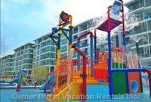 Kid Friendly Fun Vacation Rentals / These vacation rentals are geared towards kids with all sorts of fun kid-friendly activity centers and games. / by Owner Direct Vacation Rentals