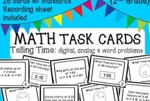 Classroom Math {for K, 1, 2} / Helpful resources for teaching Math in the primary classroom! / by Ainsley Karl