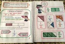 Math - fractions, decimals & percentages / Math activities for fractions, decimals and percentages - fraction games, fraction activities, fraction charts, fractions for Kindergarten, 1st grade and 2nd grade
