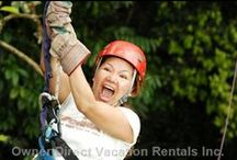 Sporty Vacation Ideas / Make memories and stay active with some of these exciting adventures while on vacation. / by Owner Direct Vacation Rentals