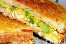 Sandwiches and Quesadillas / All things sandwich and quesadillas! / by Elaine Springer