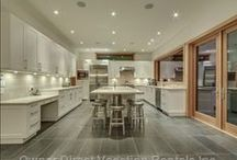 "Great Kitchen Getaways / A growing trend for many travelers who love to cook is to find accommodations with kitchens that make us feel like we are world-renowned chefs. What more could a ""foodie"" ask for than a kitchen with personality? / by Owner Direct Vacation Rentals"