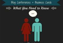 Blog Conferences / Information about blog conferences and how to prepare for them / by Elaine Griffin