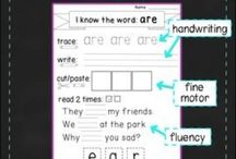 Sight Words / Sight Word Activities for Elementary Students  / by Ainsley Karl