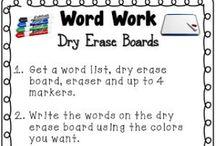 Grammar / Word Work / by Ainsley Karl