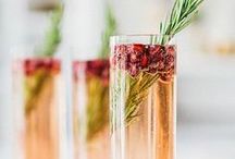 Wedding Drinks / Cocktails, mocktails and ideas for signature drinks for weddings