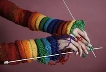 Ouch!! / Remedies for knitting related aches and pains