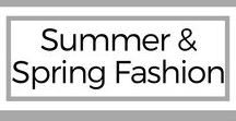 Style: Summer & Sring Fashion / Spring & Summer Outfits to help inspire your style! Jeans, tank tops, sandals, flip-flops, dresses.