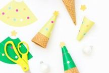 Christmas Crafts / Free printables and easy treat ideas for Christmas Parties. Includes ideas for: Printable Christmas Cards, Christmas Drink Toppers, Christmas Punch Recipes, Christmas Treat Ideas, Christmas Cookie Tray Ideas, Decorated Christmas Cookies, Letters to Santa Printables