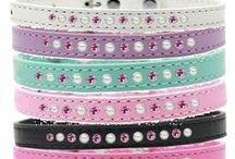Cute Dog Collars / The cutest of cute Dog Collars for your pampered pooch.