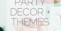 Kids Party || Birthday Ideas / Party decor and theme ideas