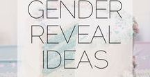 Gender Reveal || Ideas + Party / Gender reveal ideas. Boy or girl? Party ideas and photo ideas.