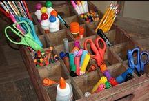 Organize & Craft Rooms