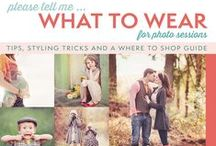 What to Wear - Idea board for your photography session