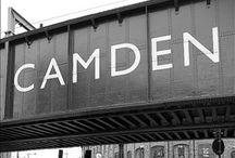 #CamdenTown, UK / Lined with trendy shops, bars and restaurants. Home to thousands of market stalls, shops and fashionable enterprises from all corners of the world.