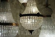 Light up my life / I've never met a sparkling chandelier that I didn't like