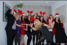 #PASteam Xmas meal - 2013 / To celebrate a great year we all went for a lovely meal!