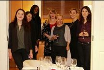 Come dine with Prestige / Kitchen's are great!  The ultra competitive Prestige girls battled it out for their respective countries at our Como 'Come Dine with Me' dinner.