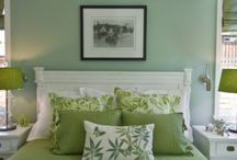Green undertone paint by Benjamin Moore