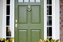 Yellow green undertone paint by Benjamin Moore