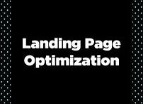 Landing & Sales Pages / Optimizing sales & landing pages.