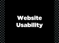 Website Usability / Website usability research and best practices. UX, UI, User Experience.