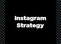 Instagram Strategy / Instagram strategy, instagram how-to, getting started with instagram, instagram marketing