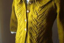 Knit / Knitted garments for women.  / by Julie Pishny