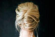 Hair, make-up, + things.