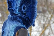 Felted / Felted and nunofelted garments.  / by Julie Pishny