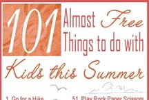 Kid Activities & Crafts / Activities to do with children, babysitting, at the church nursery, and someday with my own!