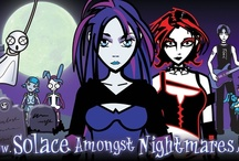 Solace Amongst Nightmares / Animated Goth Cartoon Series... Rest in peace cAitiff. I shall bring it to life. / by Amelia