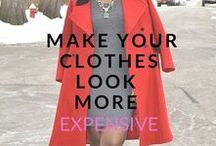 Looking Fly on a Dime / Fashion tips for women who love the look of high style but are on a limited shopping budget
