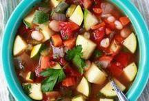 Hot Soup, Stew, & Sipper Recipes / Comforting food and drink to get cozy with.