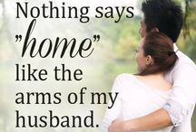 Marriage / I thank God for my husband every day.
