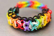 Rainbow loom fun!!