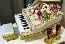 decorated  cakes / by Lorraine Cowen