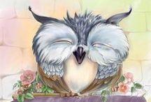owls  2 / by Lorraine Cowen