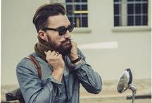 Manly Men / Beautiful Men. With Beards. Nuff said.  / by Salonee Pareek