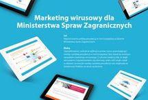 Realizacje - strategie emarketingowe / W albumie znajdują się grafiki przedstawiające strategie emarketingowe stworzone dla Klientów Migomedia.